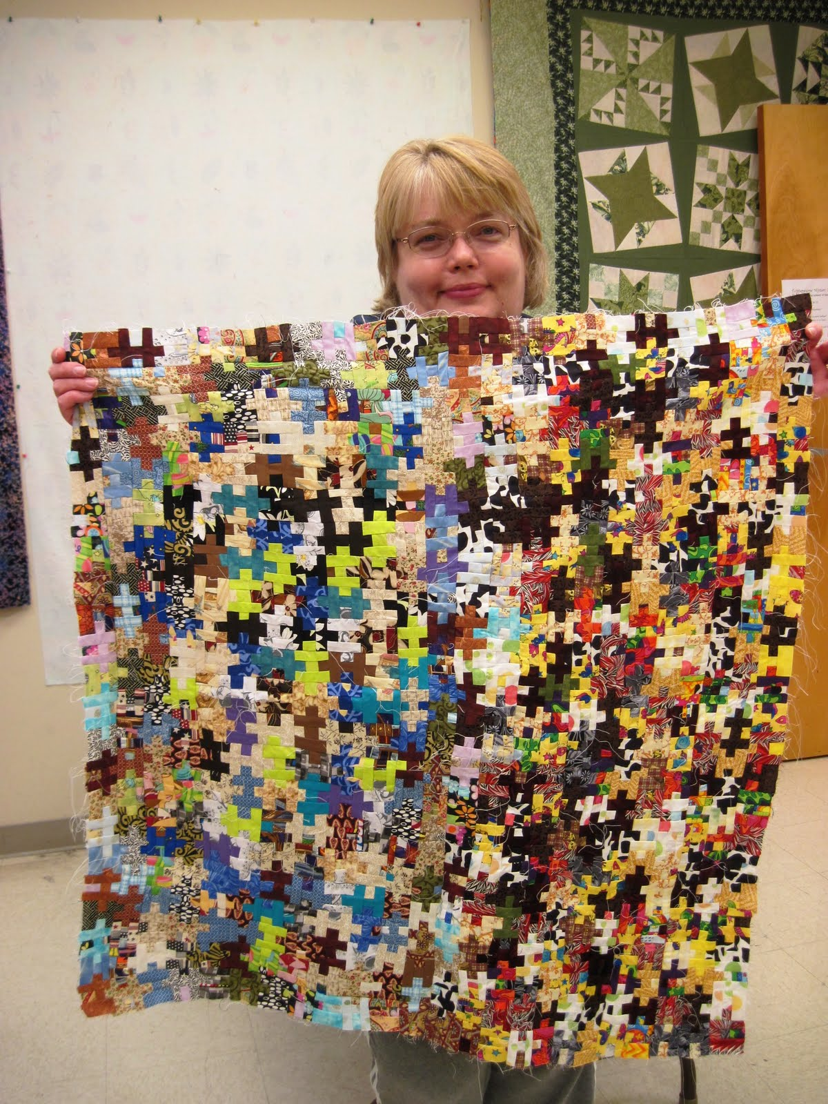 Jean S Quilting Page A Teeny Tiny Jigsaw Puzzle Quilt And