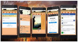 Download BBM MOD Smooth Brown Soft theme APK V3.1.0.18