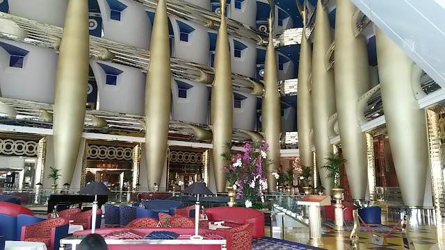 Burj Al Arab Hotel Tour