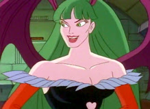 Morrigan Aensland from the cartoon Darkstalkers: The Animated Series