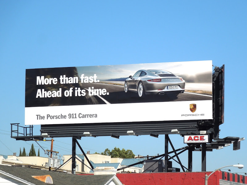 Porsche 911 Carrera More than fast billboard