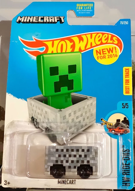 Sneek peek hot wheels 2016 mine craft hot wheels 1 64 for 9 salon hot wheels 2016