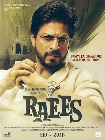 Raees 2017 Hindi Full Movie Download DVDScr XviD 700MB