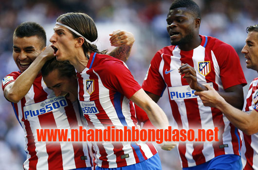 Real Madrid vs Atletico Madrid www.nhandinhbongdaso.net