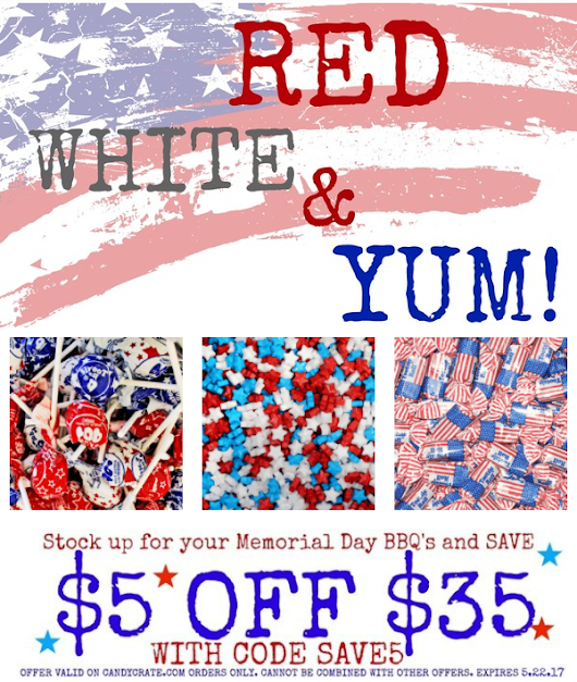 Red, white, &YUM!