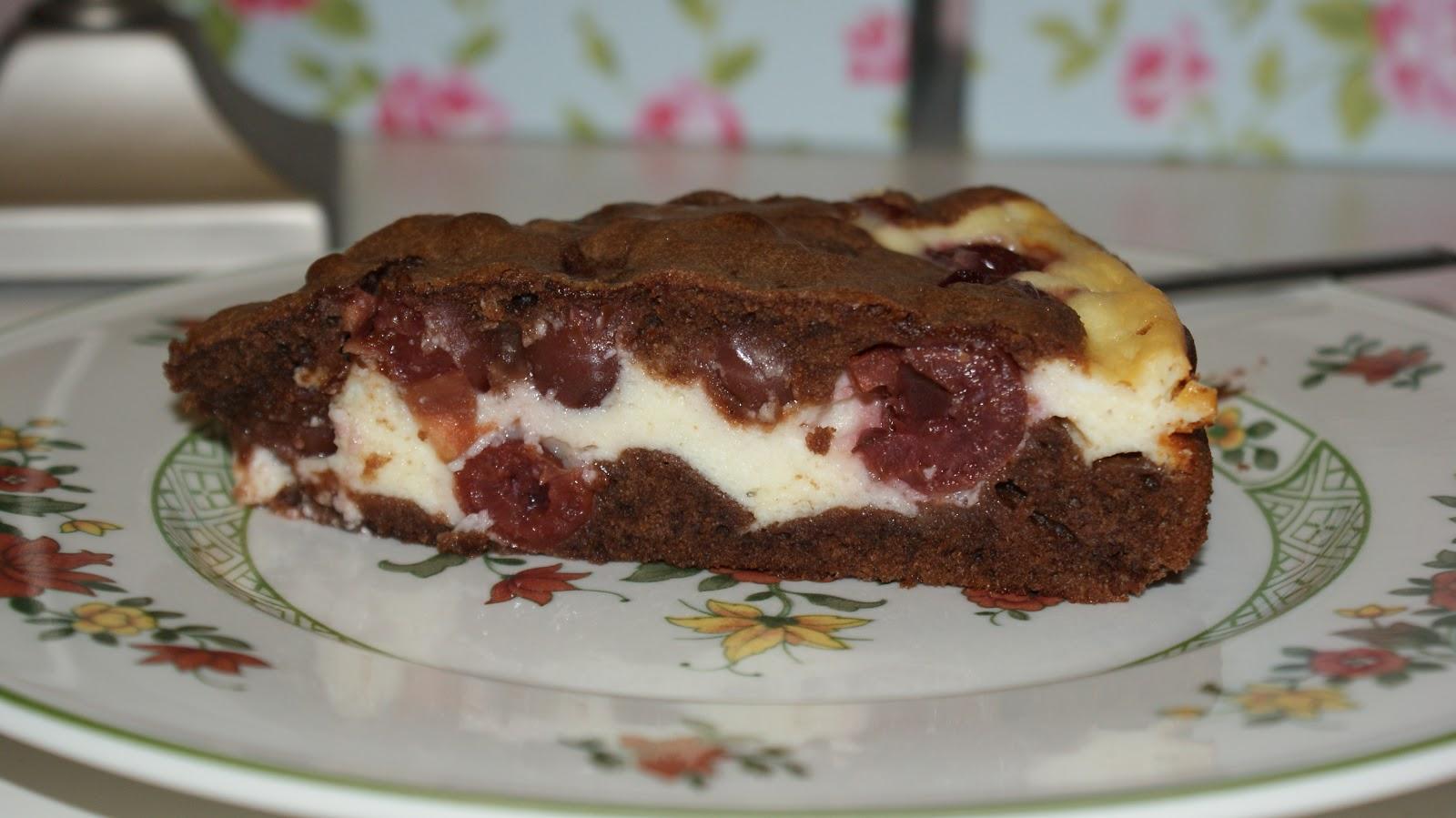 Fldrmdchn Schoko Kirsch Kuchen Mit Fullung
