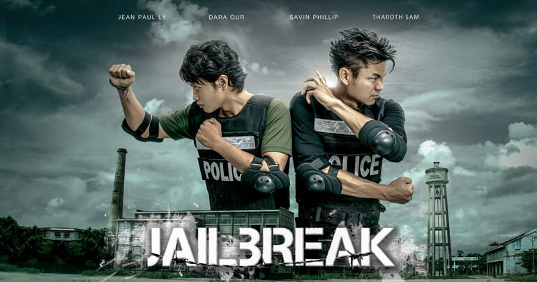 Cambodian Action Film 'Jail Break'