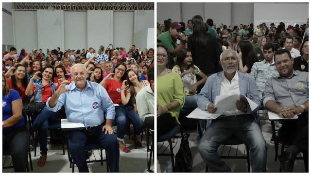 Confira o debate político com candidatos  a prefeito em Delmiro Gouveia realizado pela Ufal