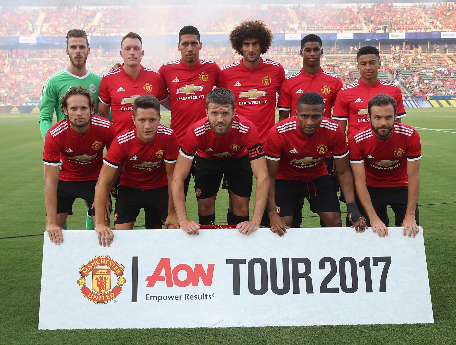 Review Hasil Pertandingan La Galaxy Vs Manchester United