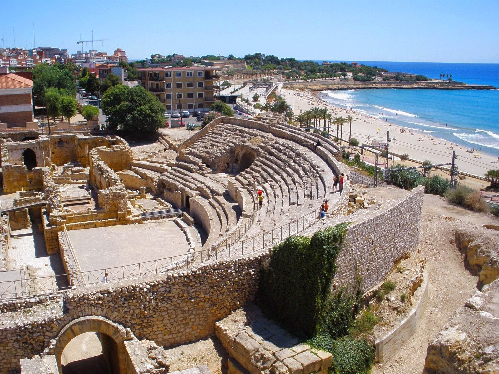 Barcelona Surroundings Tarragona Roman History In A