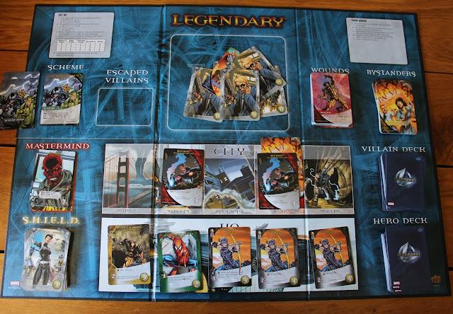 Marvel Legendary in play
