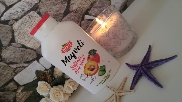 Otacı şeftali ve aloe veralı şampuan