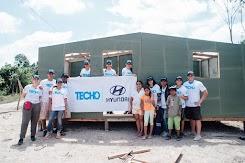 Neohyundai y Techo Ecuador continuan apoyando a damnificados de Manabí