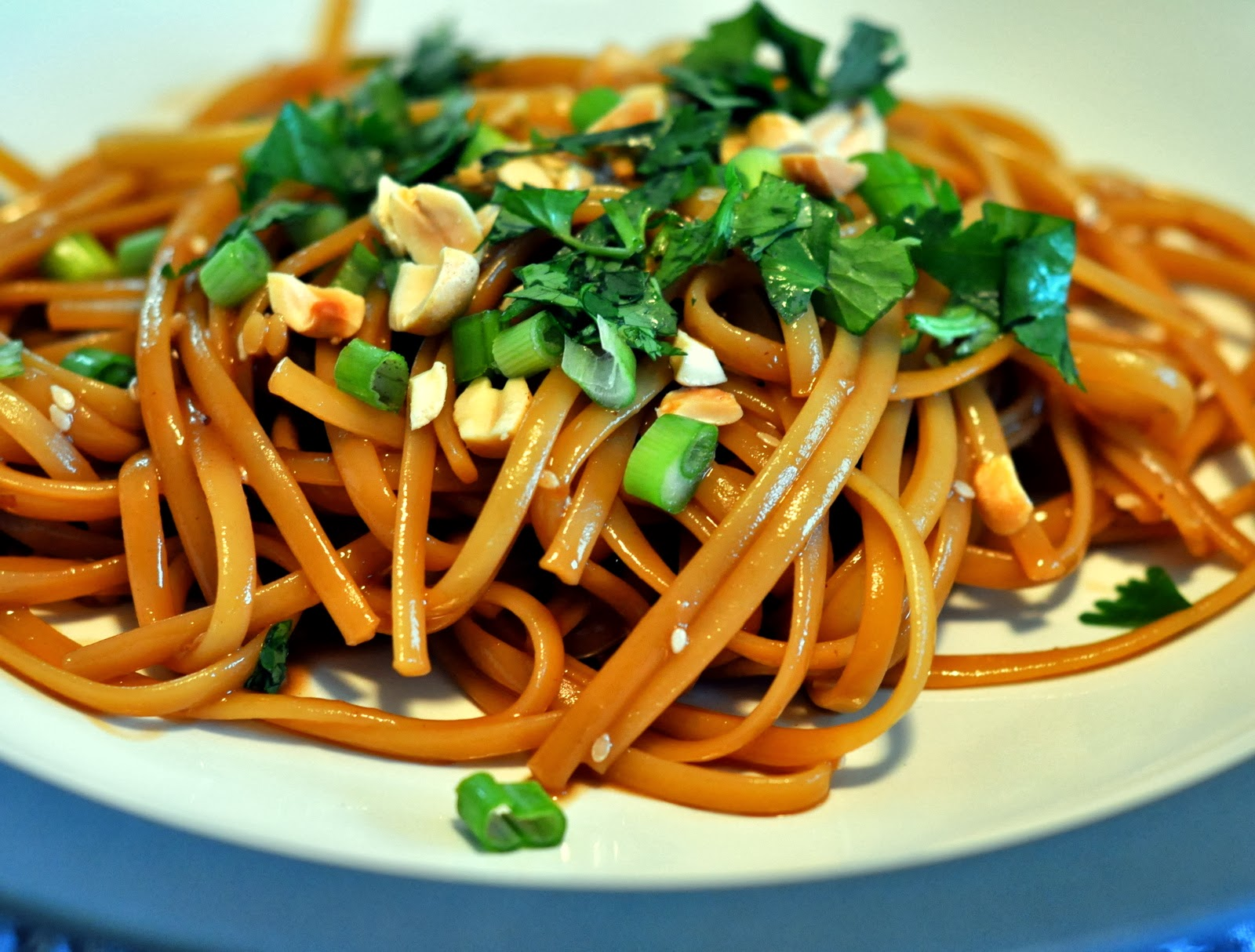 Spicy Sesame Noodles | Taste As You Go