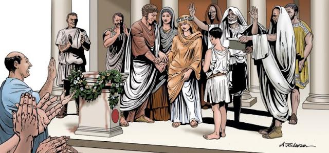 Matrimonio y sociedad romana