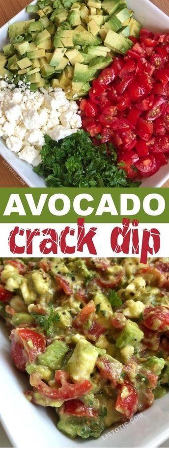 Avocado Crack Dip Recipe