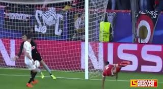 Hasil pertandingan Sevilla Vs Bayern Munich