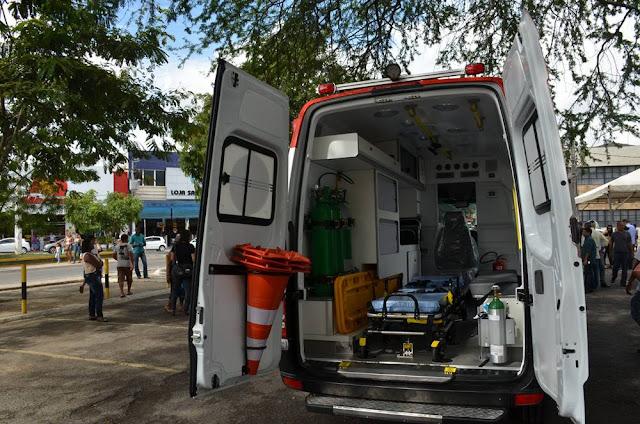 Alagoinhas ganha mais uma ambulância para o SAMU
