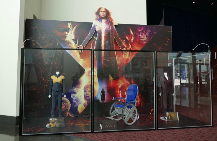 X-Men Dark Phoenix movie exhibit