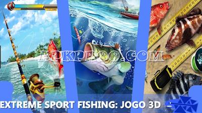 Download Extreme Sport Fishing: 3D Game Fishing simulator Mod Apk Terbaru