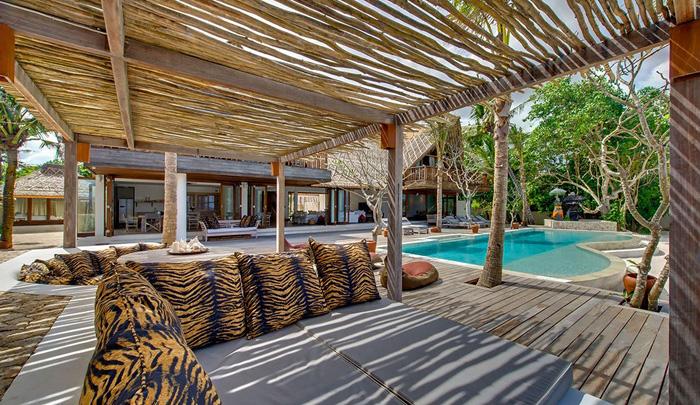 estilo rustico rustico en la isla de bali. Black Bedroom Furniture Sets. Home Design Ideas