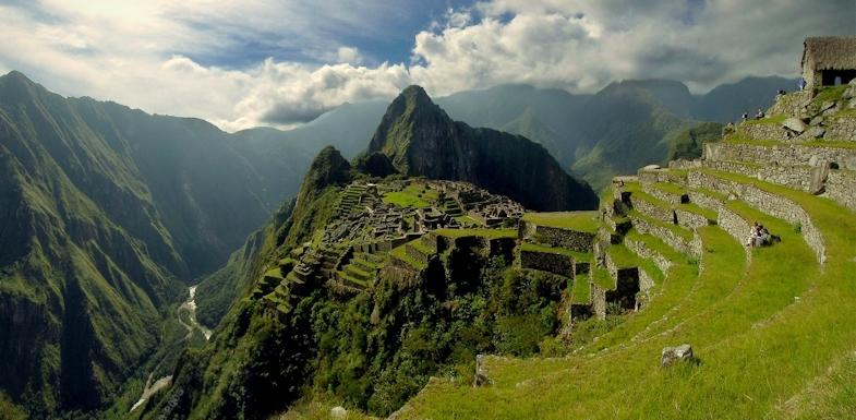 Otra panorámica de Machu Picchu, viajes y turismo