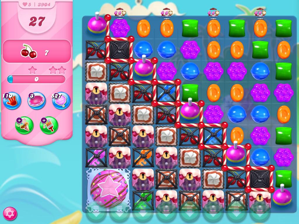 Candy Crush Saga level 3904
