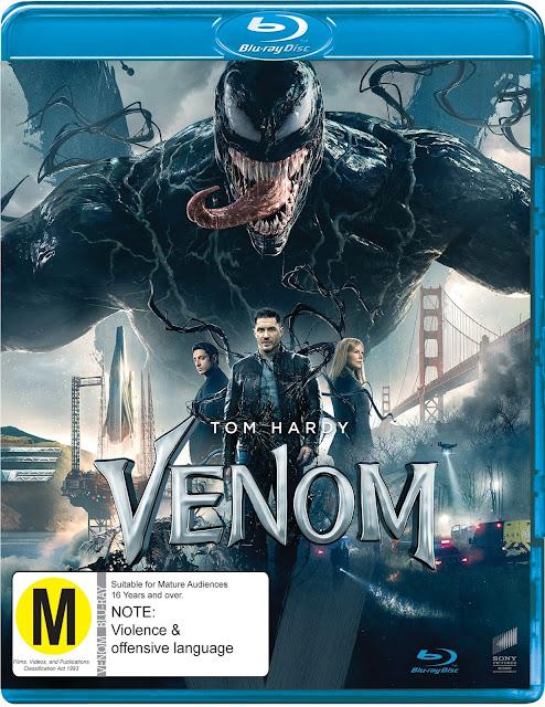 Win Venom on BluRay or DVD