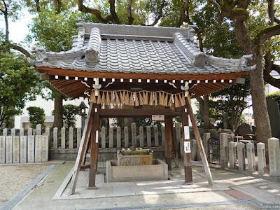 野田恵美須神社手水舎
