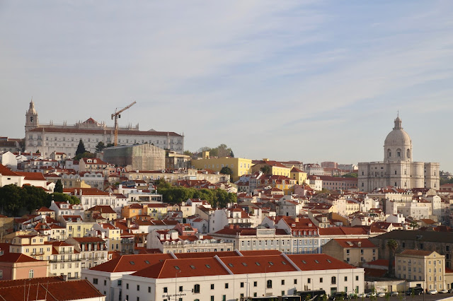 View of Lisbon from the dock, P and O cruises Pic: Keratin Rodgers/msmarmitelover