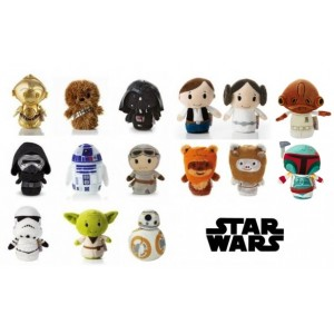 5 ways to feed your family's Star Wars obsession - Hallmark Star Wars Itty Bitty Toys - the full collection