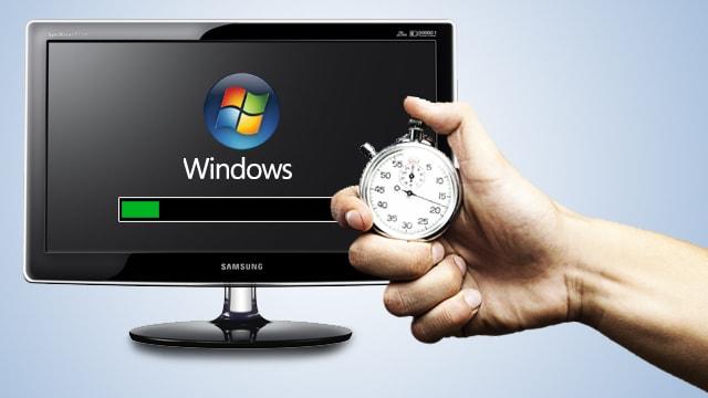 Computador com carregamento lento