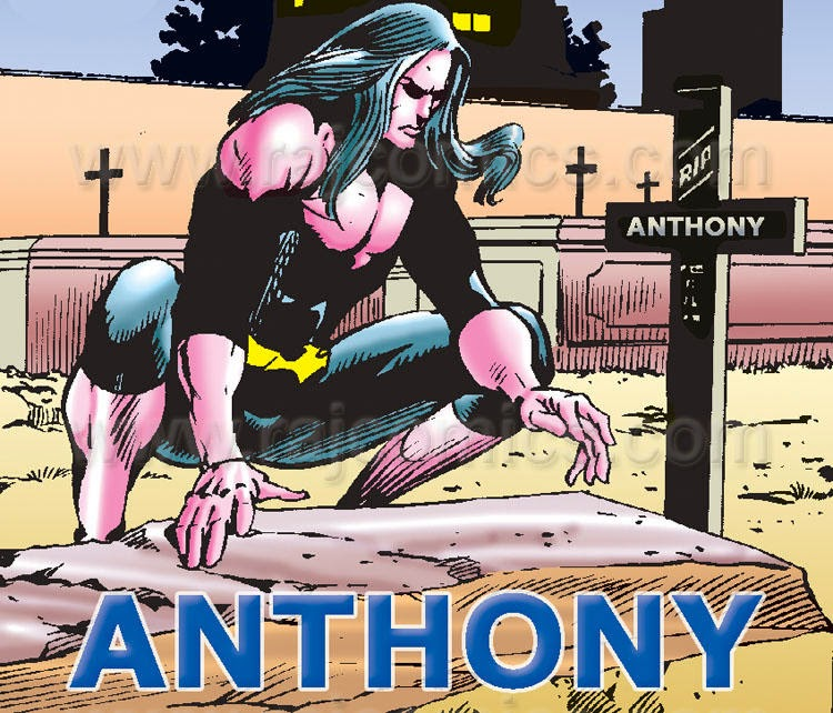 Anthony on his Grave