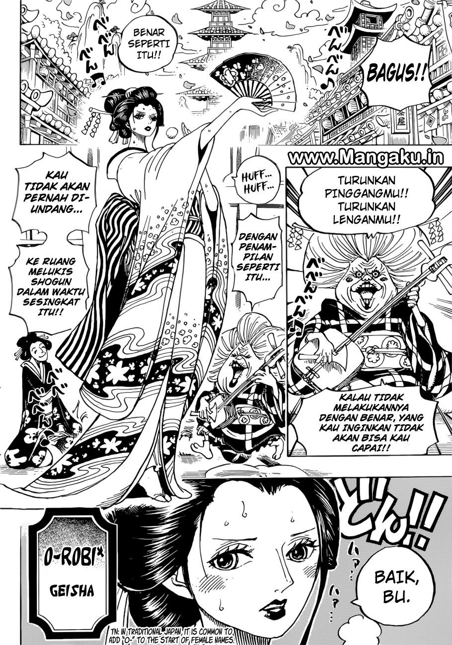 Baca Komik One Piece Chapter 909 Bahasa Indonesia Kintamaindo