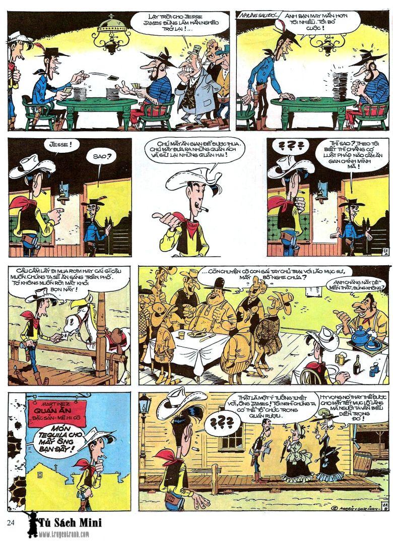 Lucky Luke tap 16 - jesse james hiep si rung xanh trang 26
