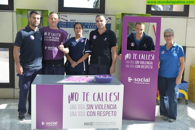 El SCS se suma a la prevención del maltrato en el Día Internacional de la Eliminación de la Violencia Contra la Mujer