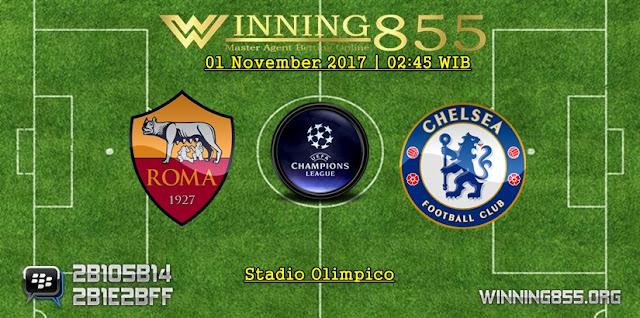 Prediksi Bola Roma vs Chelsea | 01 November 2017