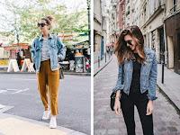 Tips Mudah Memadukan Jaket Denim Wanita