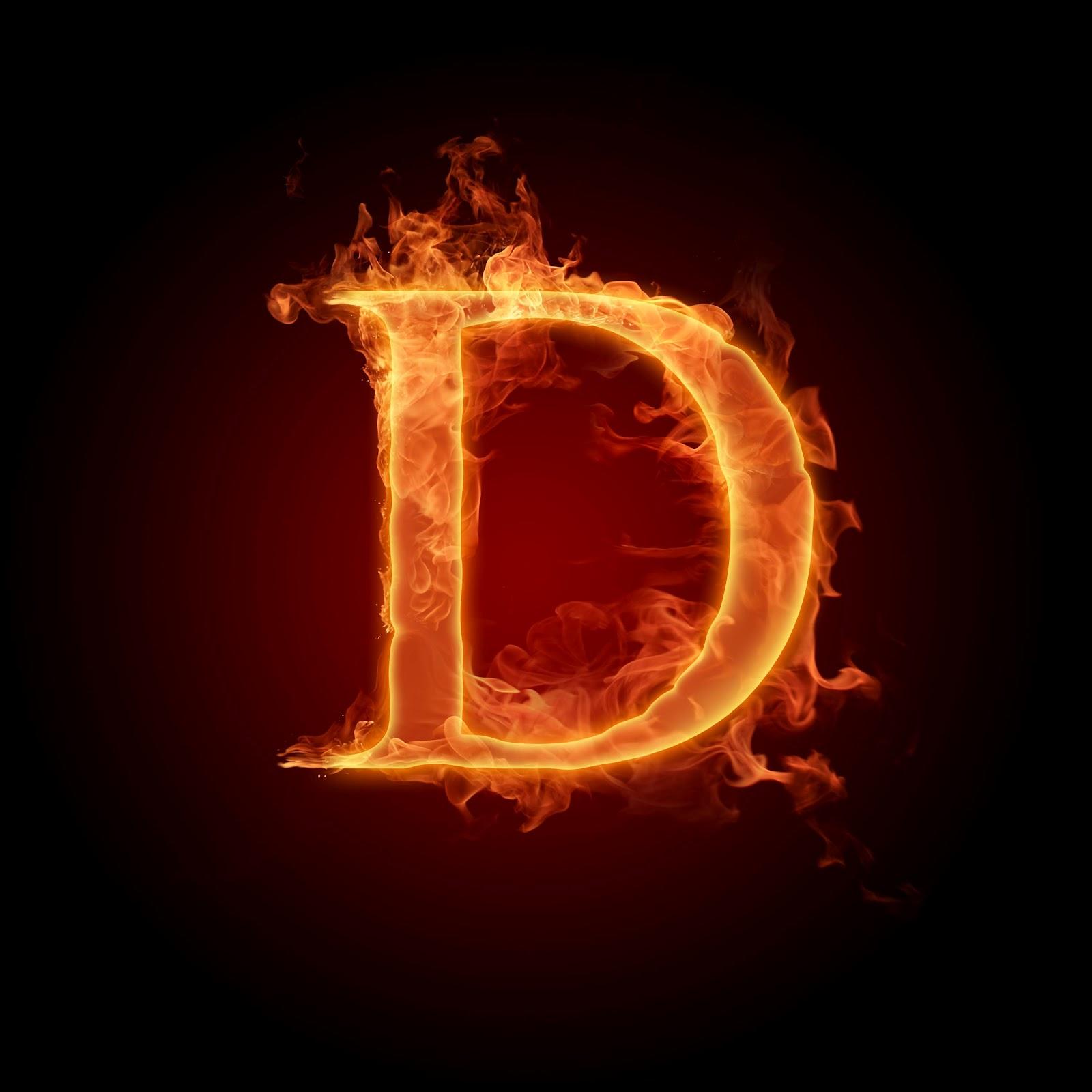 Alphabet Wallpaper in Heart Burning Alphabet Wallpaper d