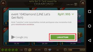 Trik Cara Dapat 5000 Diamond Gratis Line Let's Get Rich (LGR)