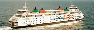 Teso boot: Boot naar Texel