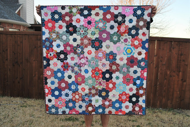 English Paper Piecing (EPP) Quilt