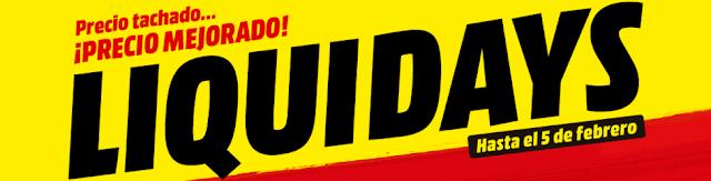 Mejores ofertas folleto Liquidays de Media Markt
