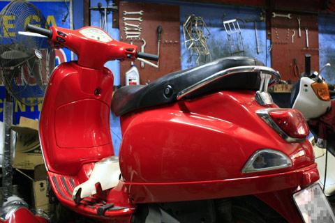 Hạng mục bảo dưỡng - sửa chữa xe Piaggio Vespa