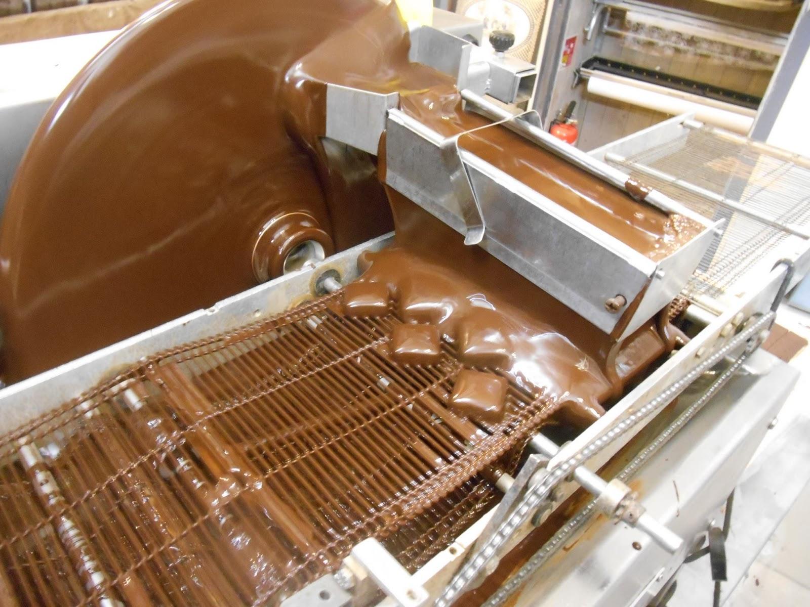 Enrobage du chocolat