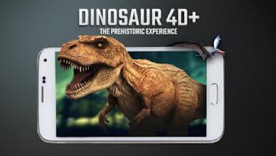 Kartu Dinosaur 4D+