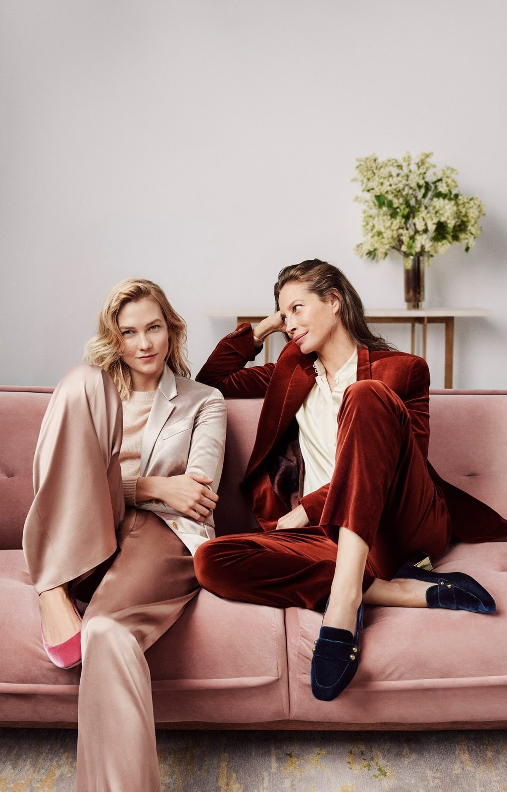 Cole Haan | Fall Winter 2017 Christy Turlington & Karlie Kloss