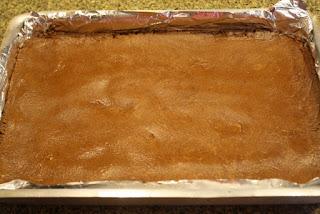 Chocolate fácil con manteca de maní / Peanut butter fudge