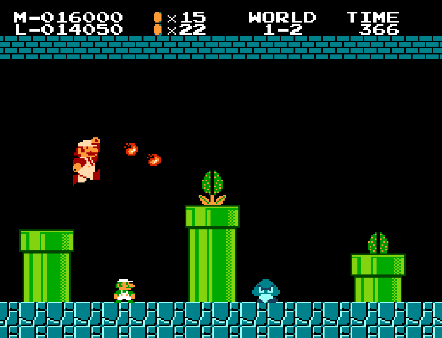 Indie Retro News: A two player Super Mario Bros hack is finally here!