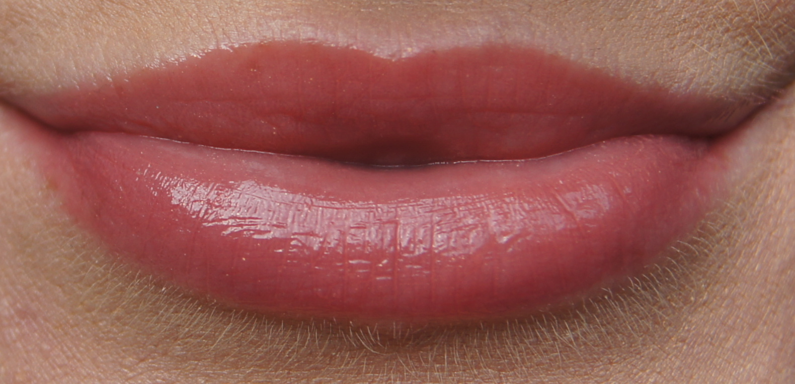 soap and glory sexy mother pucker gloss stick nudist swatch